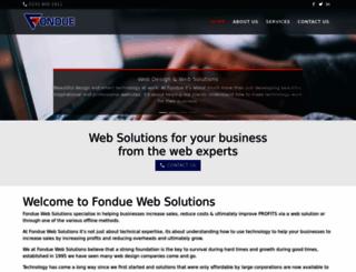 fondue.co.uk screenshot