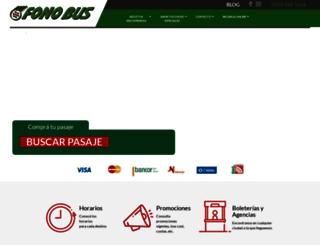 fonobus.com.ar screenshot