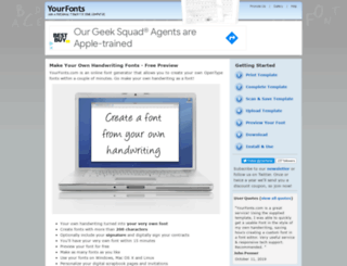fontcapture.com screenshot