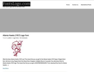 fontslogo.com screenshot