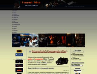 fonyoditibor.hu screenshot