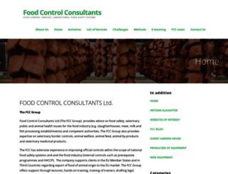 food-control.com screenshot
