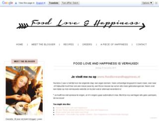 food-love-happiness.blogspot.com screenshot