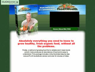 food4wealth.com screenshot