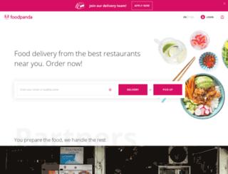 foodbyphone.com screenshot