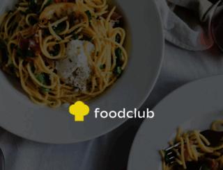 foodclub.ru screenshot
