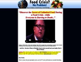 foodcrisisnoproblem.com screenshot