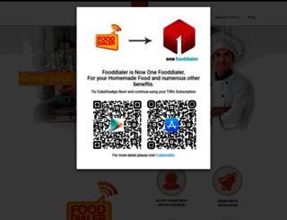 fooddialer.com screenshot