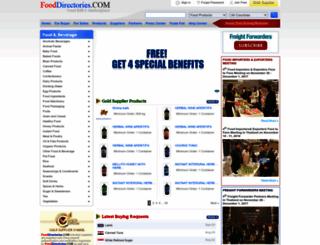 fooddirectories.com screenshot