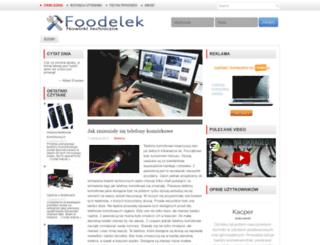 foodelek.pl screenshot