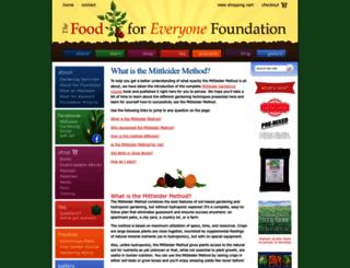 foodforeveryone.org screenshot