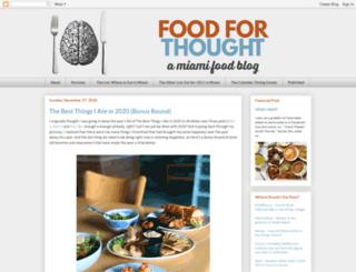 foodforthoughtmiami.com screenshot
