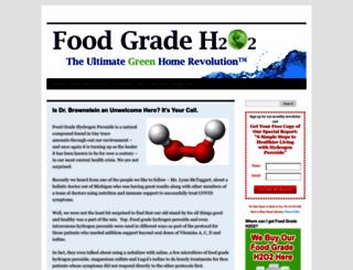 foodgradeh2o2.com screenshot