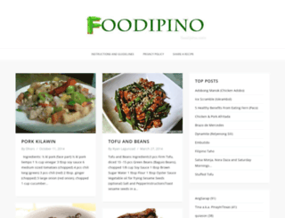 foodipino.com screenshot