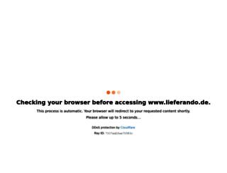 foodora.de screenshot
