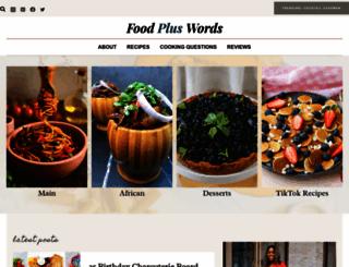 foodpluswords.com screenshot