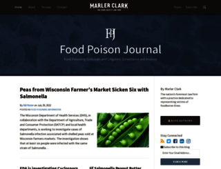 foodpoisonjournal.com screenshot