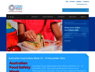 foodsafety.asn.au screenshot