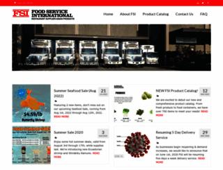 foodservice-intl.com screenshot