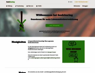 foodsharing.de screenshot