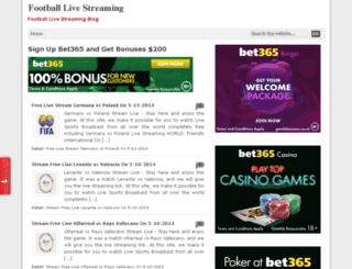 football-live-streaming07.blogspot.com screenshot