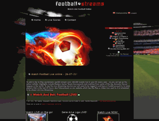 football-stream.co.uk screenshot
