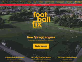 footballfix.co.nz screenshot