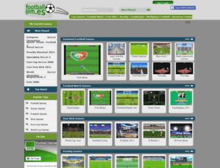 footballgam.es screenshot