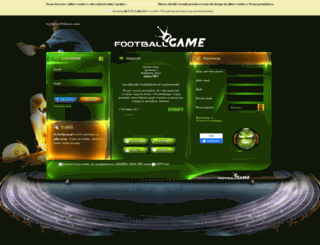 footballgame.pl screenshot