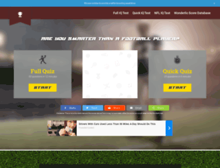 footballiqscore.com screenshot