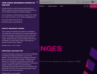 footballmanager.com screenshot