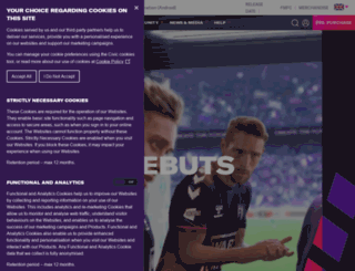 footballmanager.net screenshot