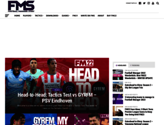 footballmanagerstory.com screenshot