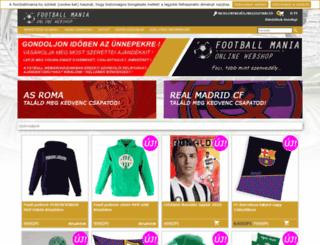 footballmania.hu screenshot