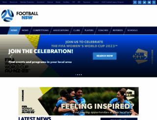 footballnsw.com.au screenshot