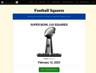 footballsquares.net screenshot