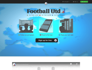 footballunited.com screenshot