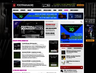 footmanager.net screenshot