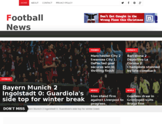 footnws.com screenshot