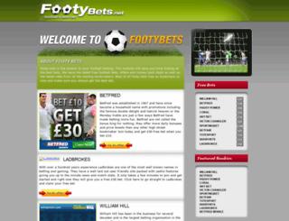 footybets.net screenshot