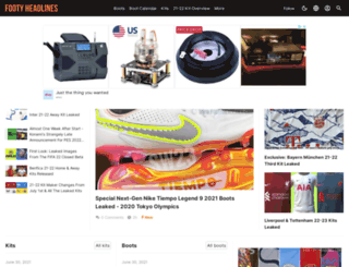 footyheadlines.blogspot.com screenshot