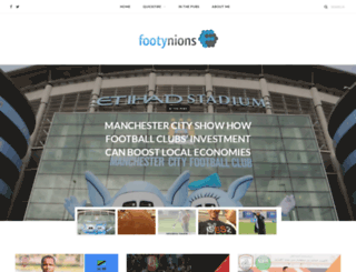 footynions.com screenshot