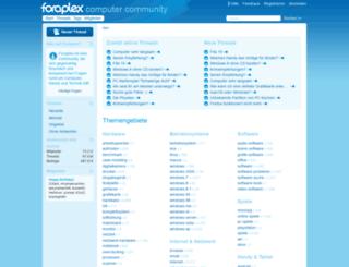 foraplex.com screenshot