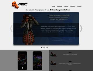 foray.com screenshot