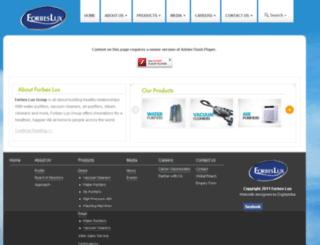 forbeslux.com screenshot