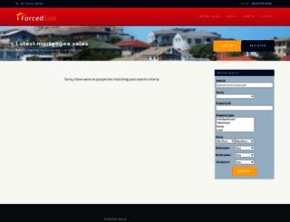 forcedsale.com.au screenshot