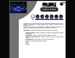 forceevent.fr screenshot