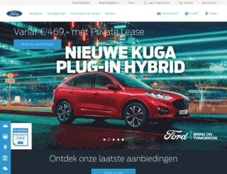 ford.nl screenshot