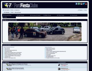 fordfiestaclube.com screenshot
