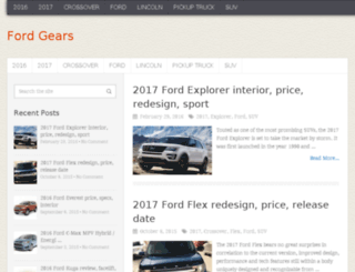 fordgears.com screenshot